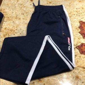Polo warm up pants